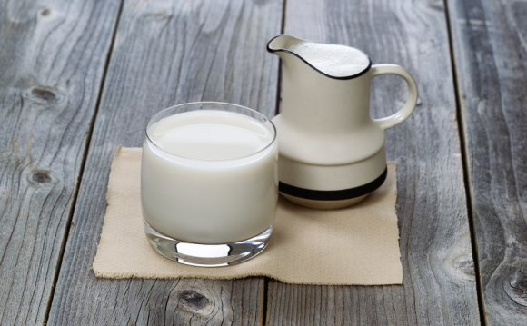 A milk protein intolerance