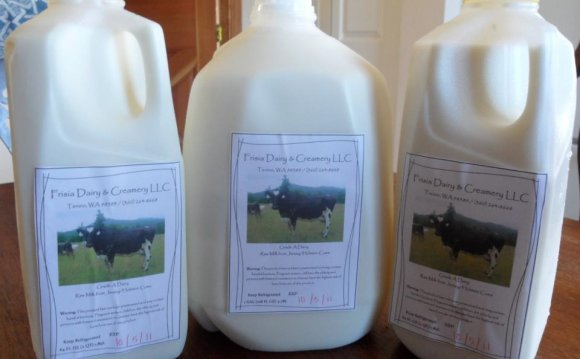Raw milk products
