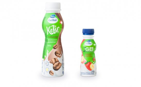 Kefir and yogurt