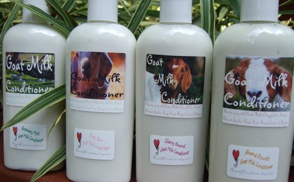 Goat milk Hair products