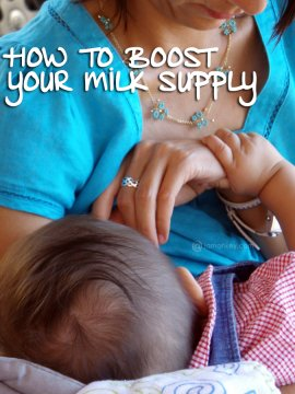 How to Boost Your Milk Supply while Breastfeeding