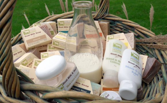 Goat milk skin care products