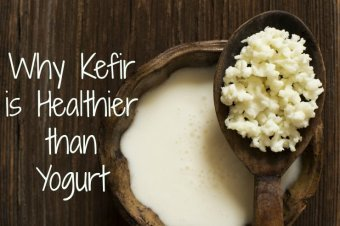 kefir is healthier than yogurt