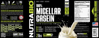 Label Image for Micellar Casein - 2 Pounds