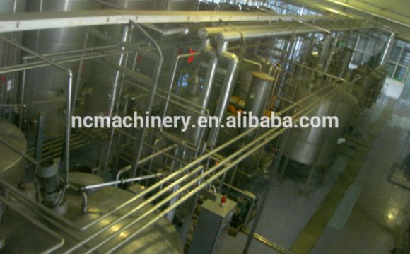 Dairy milk Production processing