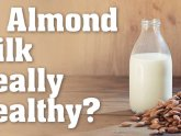 Almond milk kefir