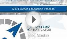 Demonstration project Nestle Milk Powder Production Process