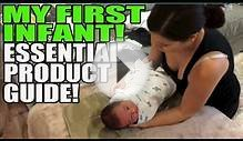 First Time Parents Essential Product List For Infant Baby