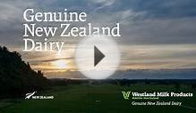 Genuine New Zealand Dairy :: Westland Milk Products 2014