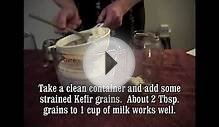 How to make kefir the easy way with Milk