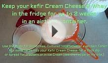 Kefir Whey & Cream Cheese